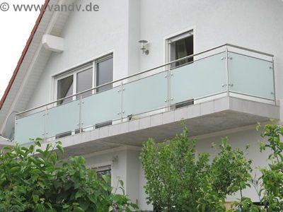 v v distribution edelstahl nach ma edelstahl balkon gel nder edelstahlbalkongel nder nr. Black Bedroom Furniture Sets. Home Design Ideas