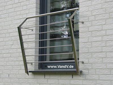 v v distribution edelstahl nach ma balkon und terrassen gel nder franz sisches. Black Bedroom Furniture Sets. Home Design Ideas