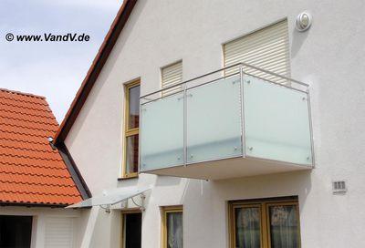 Balkon Und Terrassen Gelander Edelstahl Glas Balkon Nr 26 Mit