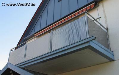 v v distribution edelstahl nach ma balkon und terrassen gel nder edelstahlbalkon nr 27 mit. Black Bedroom Furniture Sets. Home Design Ideas