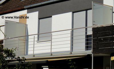 v v distribution edelstahl nach ma edelstahl balkon gel nder edelstahl balkongel nder nr. Black Bedroom Furniture Sets. Home Design Ideas