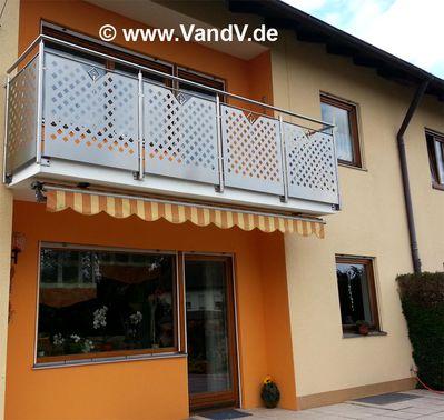 V V Distribution Edelstahl Nach Mass Balkon Und Terrassen Gelander