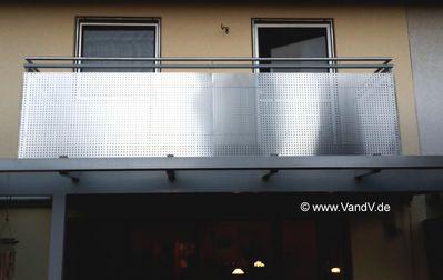 v v distribution edelstahl nach ma balkon und terrassen gel nder edelstahl balkon gel nder nr. Black Bedroom Furniture Sets. Home Design Ideas