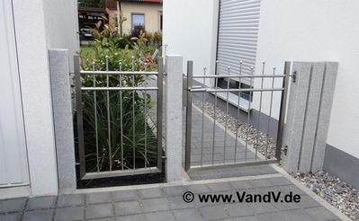 Tür Garage Haus v v distribution edelstahl nach maß tore und türen edelstahl tor