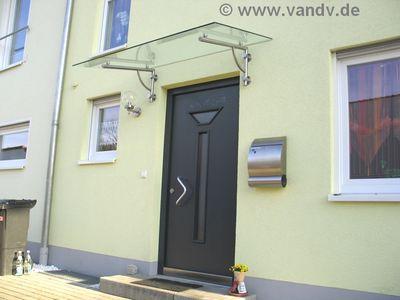 v v distribution edelstahl nach ma vordach und kleine berdachungen vordach 21. Black Bedroom Furniture Sets. Home Design Ideas