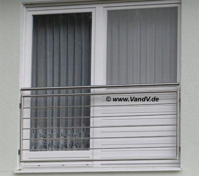 Balkon und Terrassen Geländer - Französisches Edelstahl-Balkon ...
