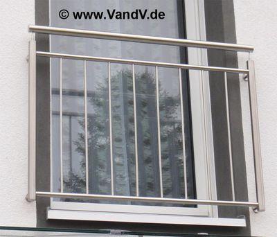 v v distribution edelstahl nach ma sonstige erzeugnisse franz sisches edelstahl balkon. Black Bedroom Furniture Sets. Home Design Ideas