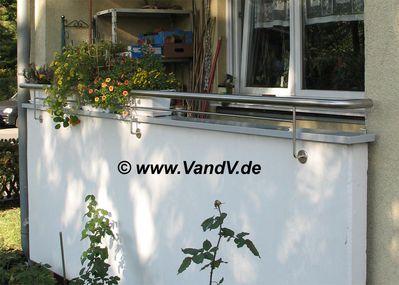 v v distribution edelstahl nach ma balkon und terrassen gel nder edelstahlhandl ufe und alu. Black Bedroom Furniture Sets. Home Design Ideas