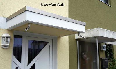 Vordach Beton v v distribution edelstahl nach maß vordach und kleine